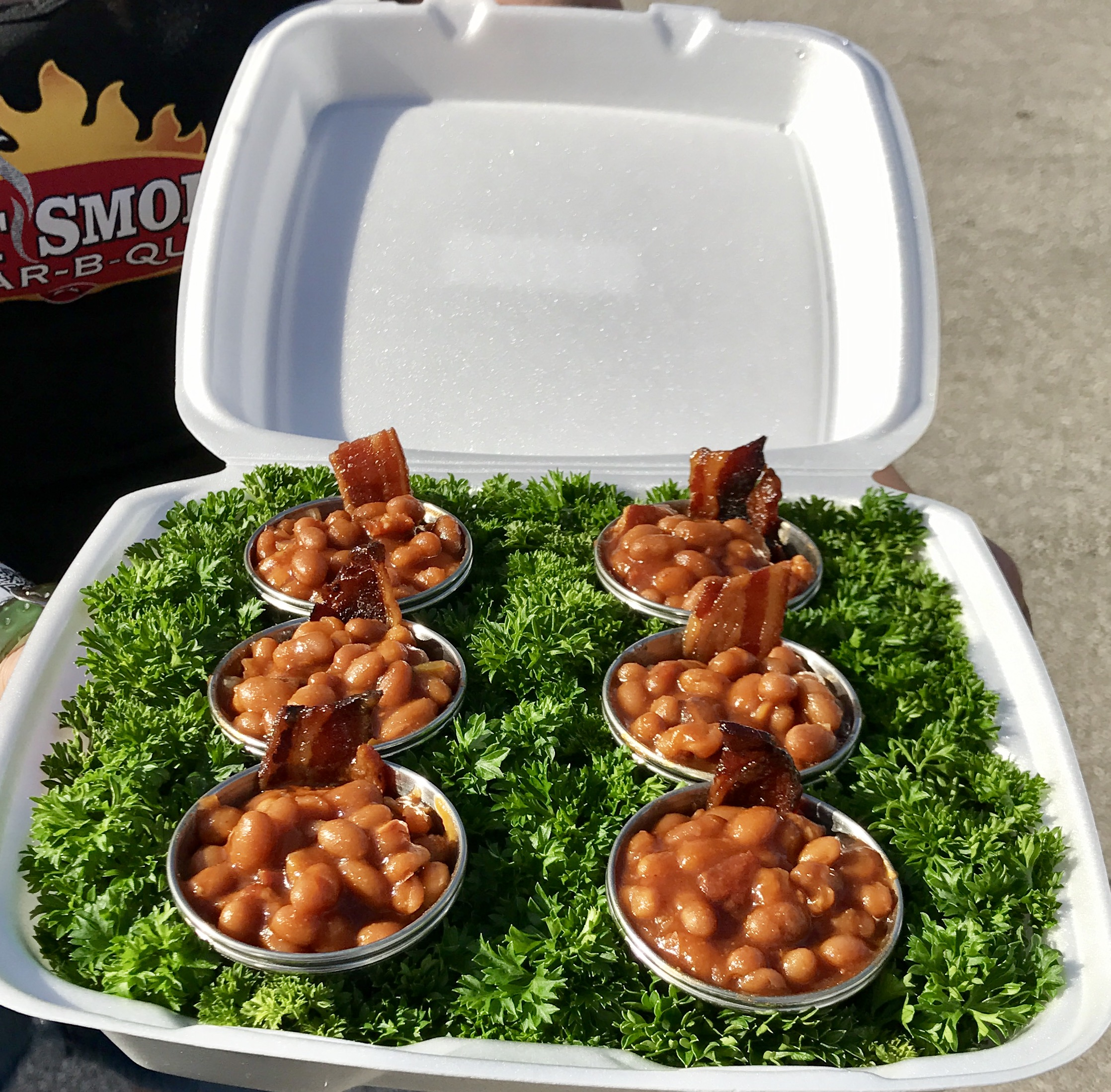 1 lb  House Made BBQ Baked Beans